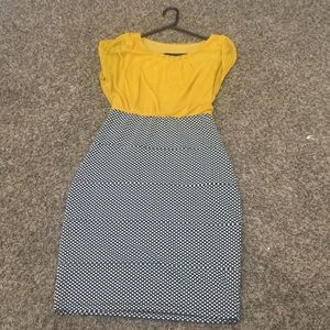 A dress, size 4 (basically a small) only worn once